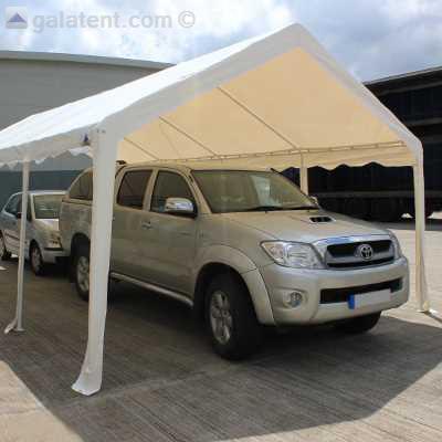 6m x 8m partytent car port original pe gala tent for Garaje portatil